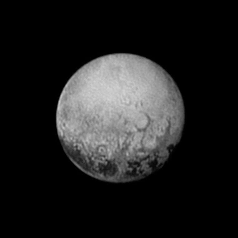Pluto Beeld afp