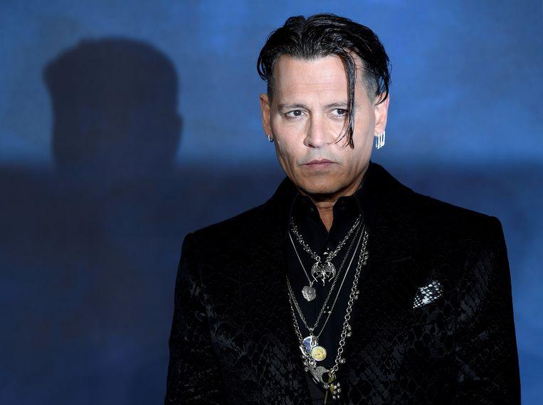 Johnny Depp  Beeld REUTERS