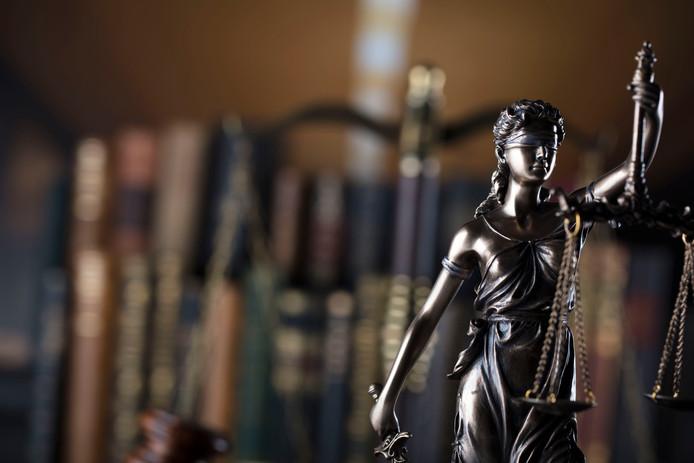 Vrouwe Justitia.