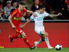 Jong PSV legt het af tegen Go Ahead Eagles in vechtmodus