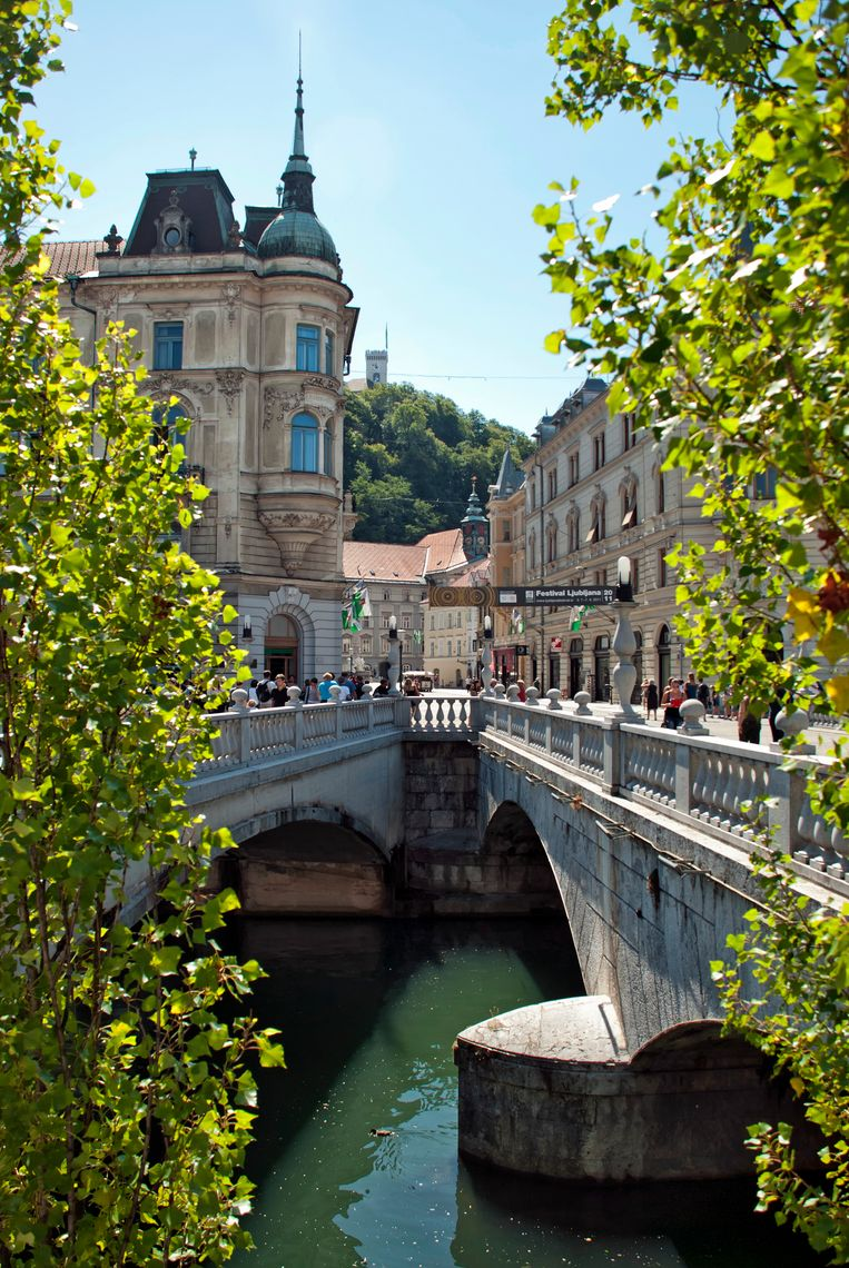 Ljubljana. Beeld getty images