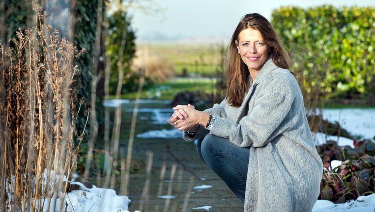 Petra Stienen in Broek in Waterland. Beeld Marijn Scheeres