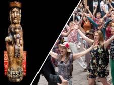 Nieuws gemist? Kringloopbeeldje van 15 euro blijkt middeleeuws museumstuk en muzikale flashmob in centrum van Arnhem