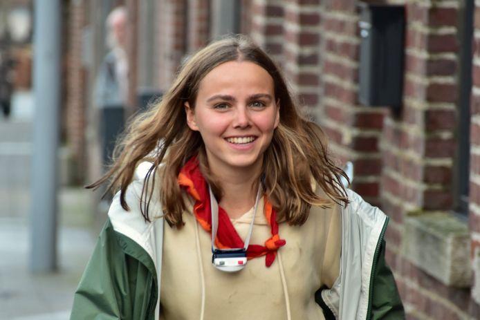 Lotte Torney, hoofdleidster van KSA Mortsel.