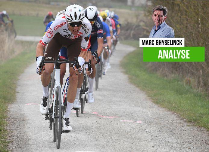 Onze chef wielrennen over de uitsluiting van Michael Schär in de Ronde van Vlaanderen.