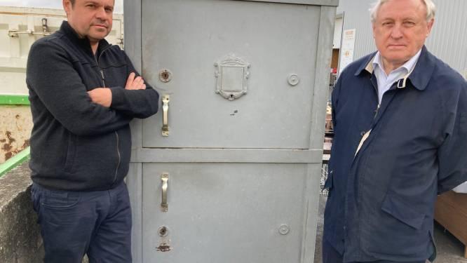 """Brandkast met geschiedenis te koop tijdens Week van De Kringwinkel: """"Ze weegt wel 1.000 kilo"""""""