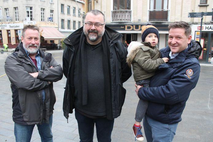 BVB smelt samen met Pro. Jo Lories (midden) wordt de sterke man van de partij.