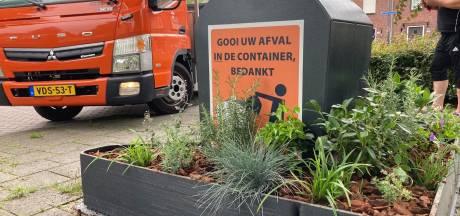 Oosterhout heeft containertuintjes van afval