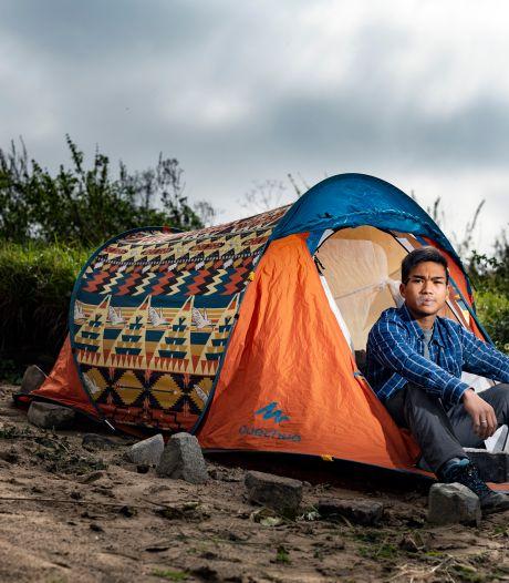 Hoe dakloze Tawan al 1,5 jaar overleeft op straat: 'Ik wil niets liever dan een normaal leven'