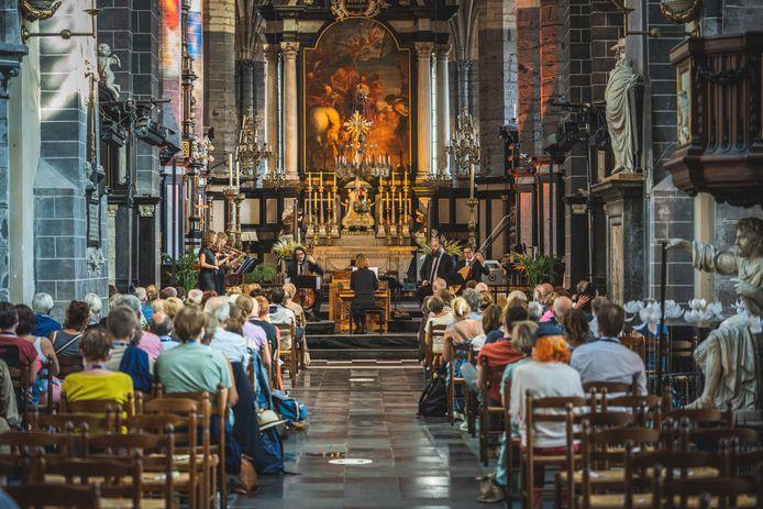 Een concert van OdeGand in de Sint-Jacobskerk, bij een van de vorige edities