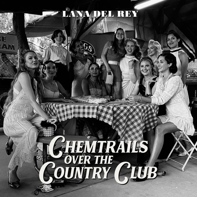 'Chemtrails Over the Country Club' van Lana Del Rey. Beeld Humo
