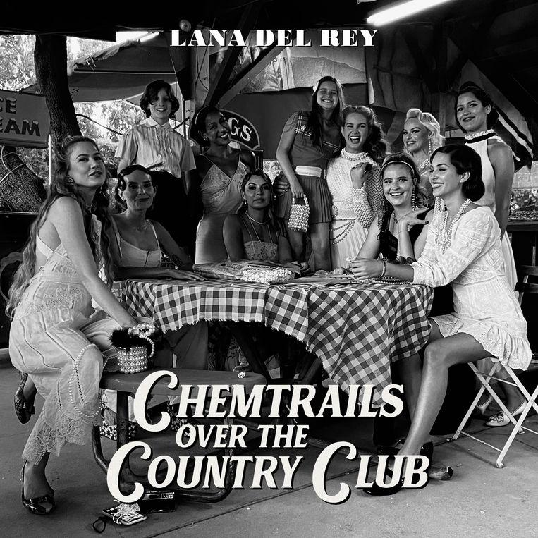 'Chemtrails Over the Country Club' van Lana Del Rey komt uit op vrijdag 19 maart bij Interscope/ Polydor. Beeld Humo
