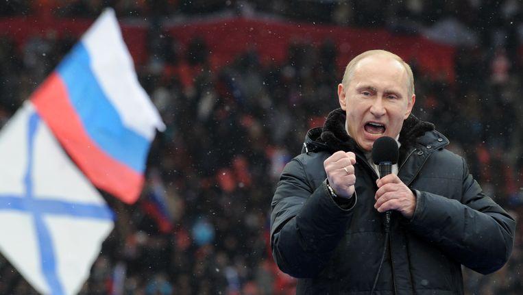 De Russische president Vladimir Poetin Beeld AFP