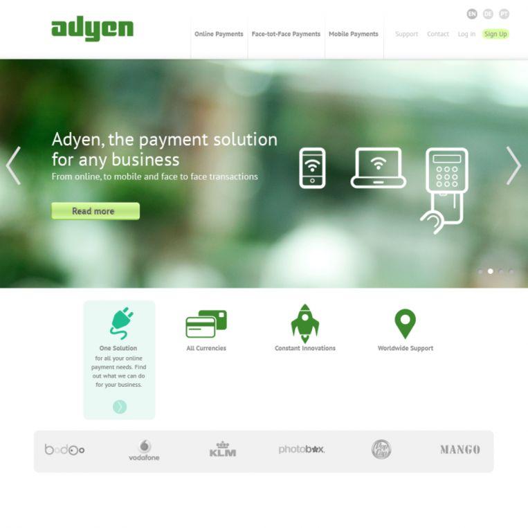 Website van Ayden. Een startup 'die zomaar eens de nieuwe Skype of Spotify kunnen zijn' Beeld