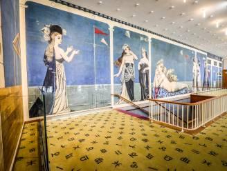 Wandschildering Paul Delvaux en andere parels in het Kursaal in ere hersteld... dankzij corona