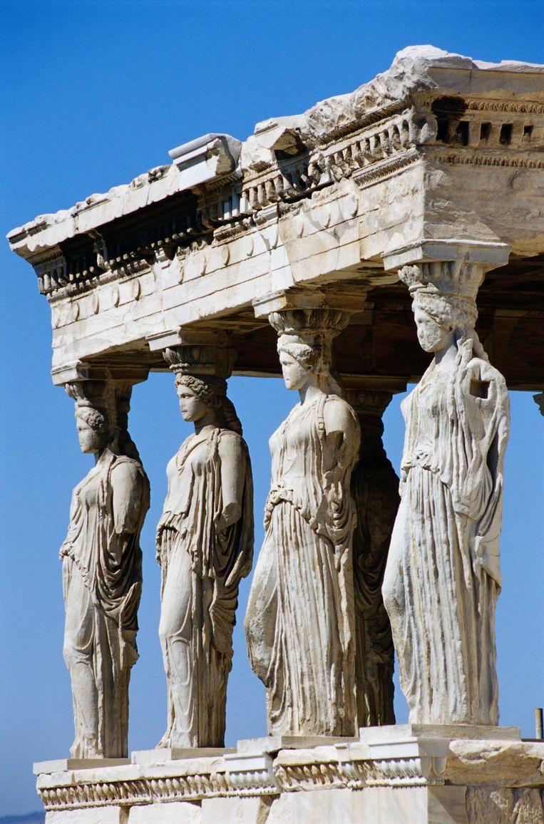Als waarschuwing voor nieuwe varianten waren Griekse goden geen gekke keuze geweest. Beeld Getty Images