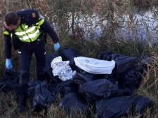 Hennepafval gedumpt in Giethoorn