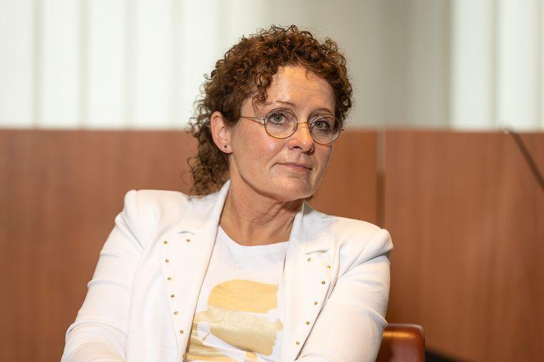 Minister van Mobiliteit Lydia Peeters (Open Vld). Beeld BELGA