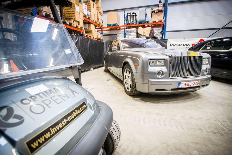 De auto's van Jeroen Piqueur.