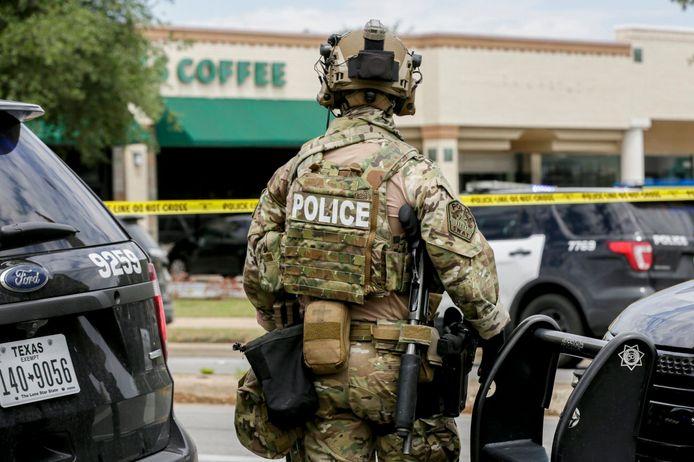 De politie is ter plaatse in Austin.