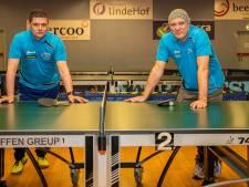 Deze tafeltennissers van Avanti gebruiken pingpong in hun herstel na medische behandelingen