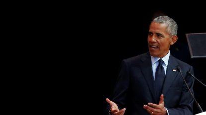 Obama geeft vernietigende speech over Trump, zonder ook maar één keer zijn naam te noemen
