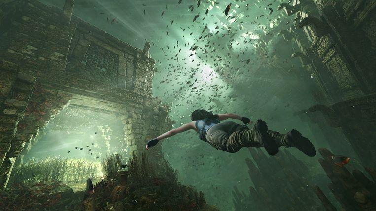 Niks mis met een oerklassieke blockbustergame, zolang hij maar even goed is gemaakt als 'Shadow of the Tomb Raider'. Beeld Square Enix