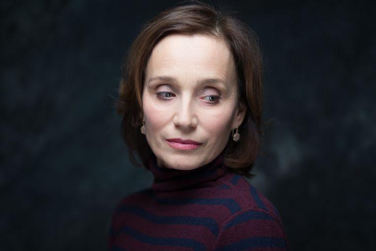 In 2003 herontdekte Kristin Scott Thomas haar liefde voor theater.  Beeld Getty Images