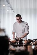 In restaurant Ruimzicht kookt Bjorn Massop zoutvrij.