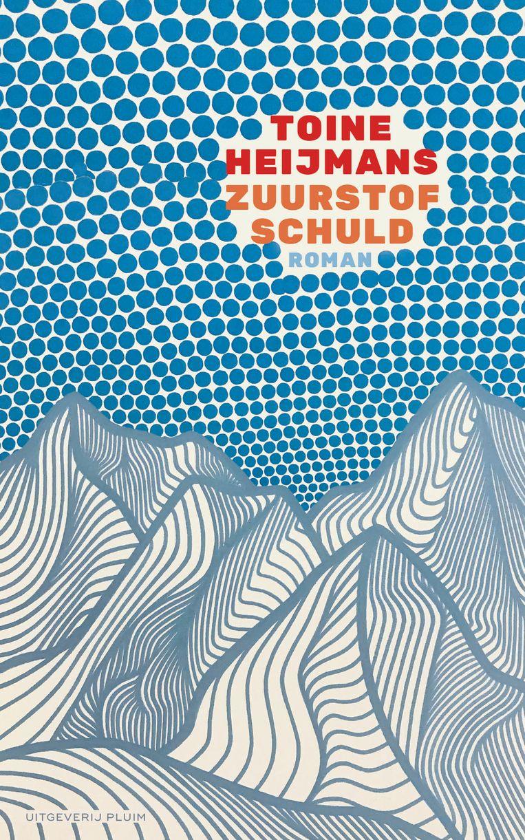 Elfde, definitieve ontwerp van Roald Triebels voor Zuurstofschuld. Illustratie Christa Rijneveld. Beeld Uitgeverij Pluim