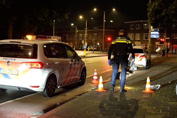Ongeluk met fietsster in Breda.
