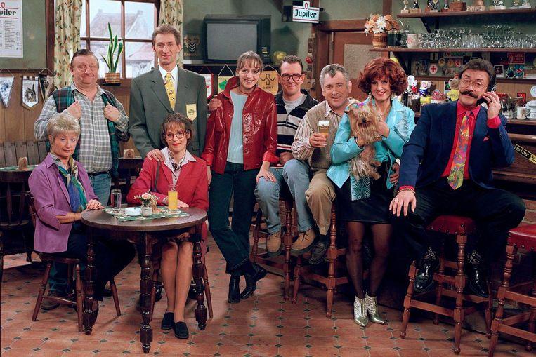 De cast van 'F.C De Kampioenen'.