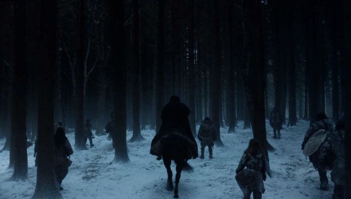 En zo eindigt 'Game of Thrones'.