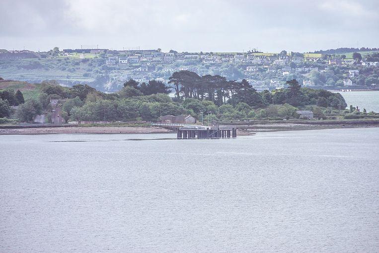 Het eilandje Spike Island. Beeld Wikimedia Commons / William Murphy