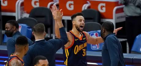 Warriors dankzij inhaalrace in overtime langs Heat