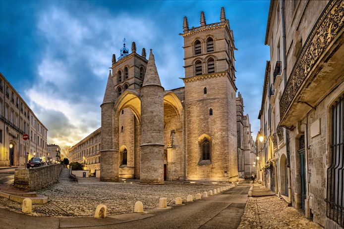Kerken in Montpellier waren een mogelijk doelwit.