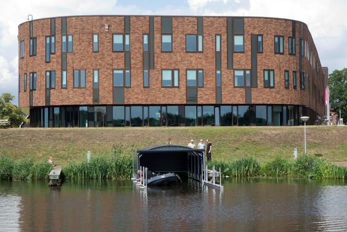 Het botenhuis van de Vechtzomp ligt inmiddels in Dalfsen.