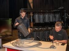 Met eindmusical het theater in, het kan in Veluvine