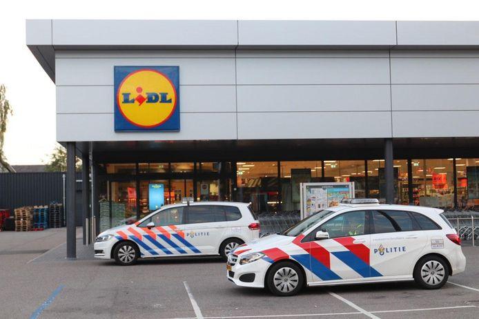 De Lidl-supermarkt Kanaal-Noord.