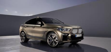Nieuwe BMW X6 wil opvallen met 'brandende' grille