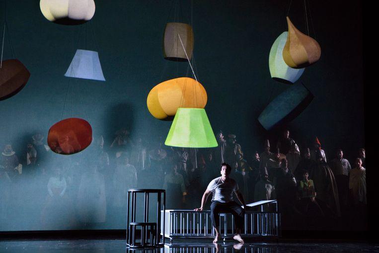 Verdi's Don Carlos, in de regie van Johan Simons bij Opera Ballet Vlaanderen. Beeld Annemie Augustijns / Opera Ballet Vlaanderen