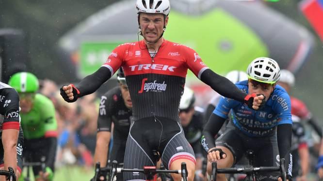 Theuns wint pittig sprintje in BinckBank Tour, Merlier knap derde