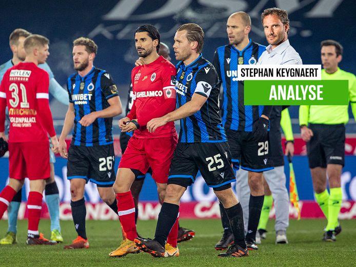 Onze chef voetbal na Club Brugge - Antwerp.