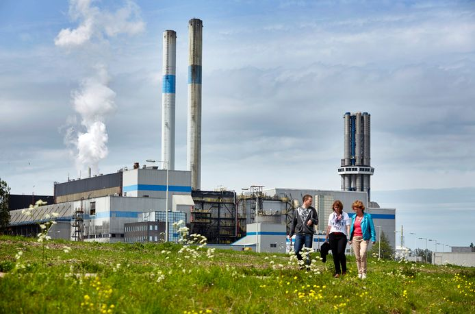 AVR in Rozenburg. Het warmtebedrijf is een van de grootste stadswarmteproducenten van Nederland. foto: Jan de Groen