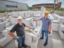Accu voor het opslaan van zonne-energie in Boekel werkt, en trekt dus de aandacht