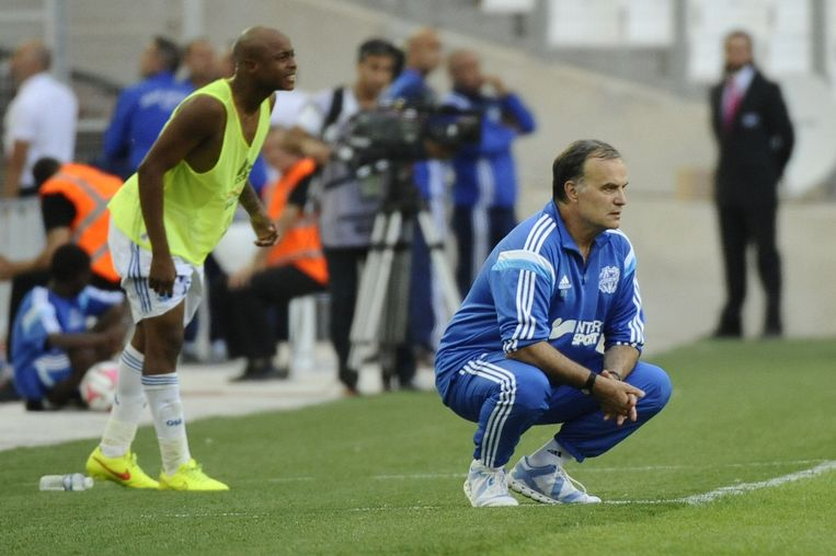 Coach Marcelo Bielsa was terecht boos. Beeld PHOTO_NEWS