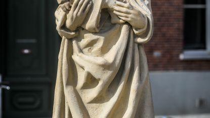 Jezusbeeld onthoofd aan Brugse kerk