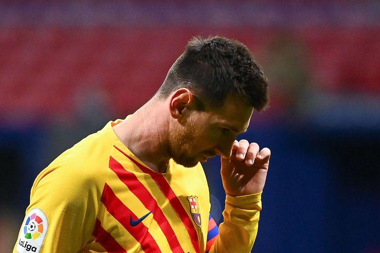 Lionel Messi  Beeld AFP
