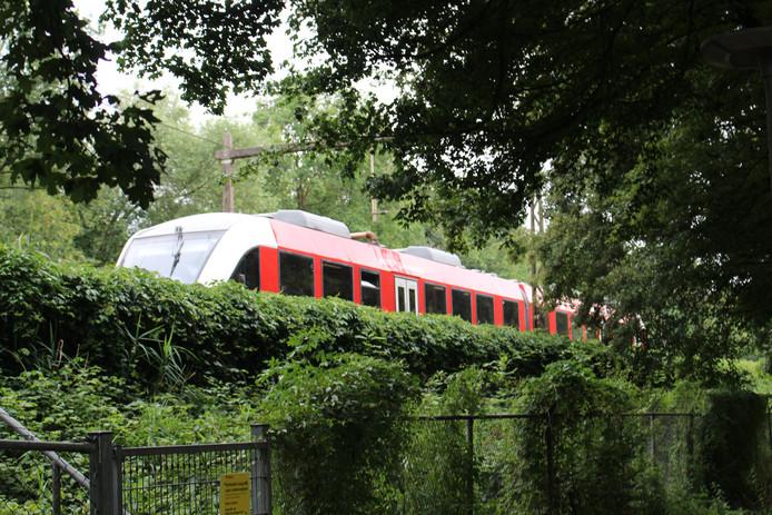 De kapotte trein in Hengelo