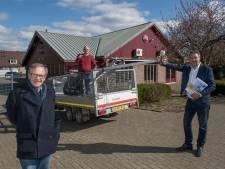 Nieuw dorpshuis IJzendoorn, cadeau van weldoener, open op verkiezingsdag